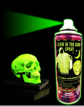 GLOW IN THE DARK Spray Paint (Green)<!-- Click to Enlarge-->