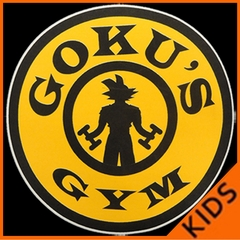 Goku's Gym Kids T-shirt