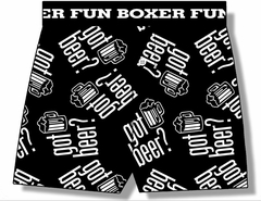 Got Beer Boxer Shorts