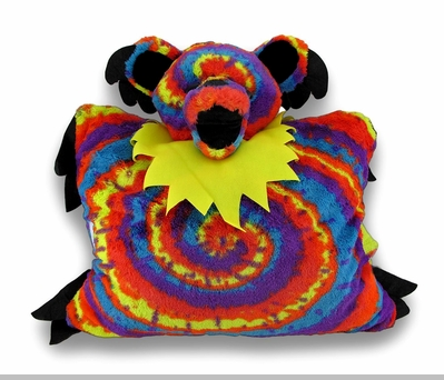 Grateful Dead Dancing Bear Stuffed Pillow Pet<!-- Click to Enlarge-->