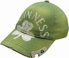 "Guinness ""Clover"" Bottle Opener Hat (Green)"