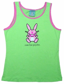 "Happy Bunny ""Cute But Psycho"" Tank Top"