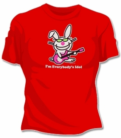 "Happy Bunny ""Everybody's Idol"" Girls T-Shirt"