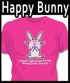 Happy Bunny T-shirts On SALE !!!