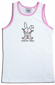"Happy Bunny ""You're Icky"" Tank Top"