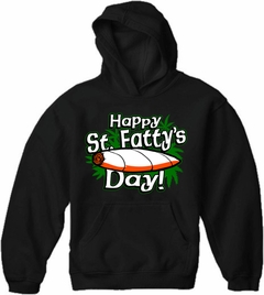 Happy St. Fatty's Day Adult Hoodie