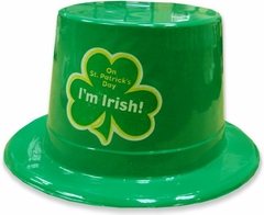 Happy St. Patrick's Day Green Top Hat