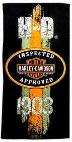 "Harley Davidson 1903 Beach & Bath Towel (30"" x 60"")"