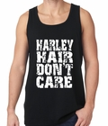 Harley Hair Don't Care Tank Top