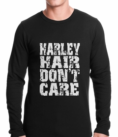 Harley Hair Don't Care Thermal Shirt