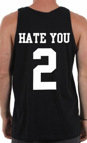 Hate You 2 Tank Top