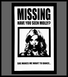 Have You Seen Molly? She Makes Me Want To Dance! Men's T-Shirt