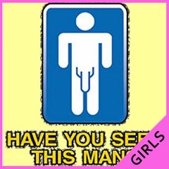 Have You Seen This Man Girls T-Shirt