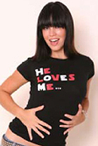 He Loves Me... I love his Friend Girls T-Shirt