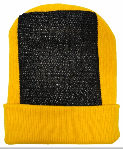Head Spin Beanies - BBOY Headspin Break Dance Beanie (Gold / Black)<!-- Click to Enlarge-->