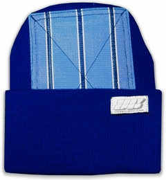 Head Spin Beanies - BBOY Headspin Break Dance Beanie (Royal Blue / Light Blue)
