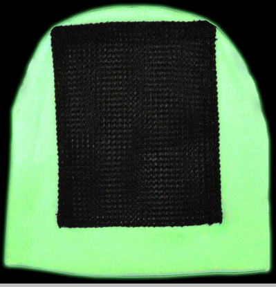 Headspin Break Dance Hat - Glows In The Dark And Under Blacklight<!-- Click to Enlarge-->