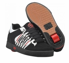 Heely's Caution Roller Shoe (Black/White/Red)