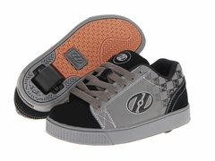 Heely's Fade Roller Shoe (Gray/Black/White)