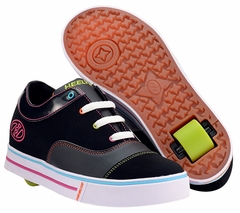 Heely's Feisty Roller Shoe (Black/Multi) #7948