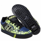 Heely's Motion Plus Roller Shoe, Black/Navy/Lime