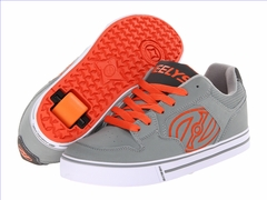 Heely's Motion Roller Shoe (Grey/Orange)