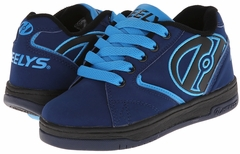 Heely's Propel 2.0 Roller Shoe (Navy Blue/Light Blue)