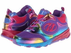 Heely's Race Roller Shoe (Purple/Rainbow)