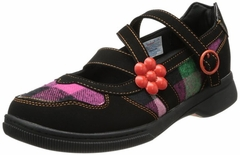 Heely's Socialite Roller Shoe (Black/Orange/Multi)