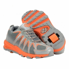 Heely's Sonar Roller Shoe (Orange/Gray/Silver)