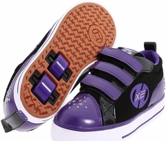 Heely's Sparkler Roller Shoe (Black/Purple/White)