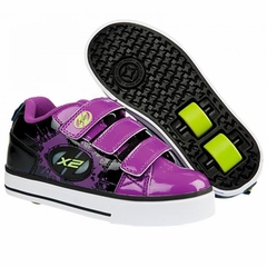 Heely's Speed X2 Roller Shoe (Purple/Black)
