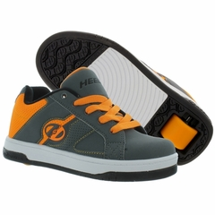 Heely's Split Roller Shoe, Gray/Orange