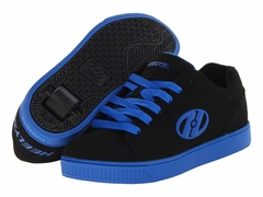 Heely's Straight Up Roller Shoe (Black/Royal Blue)