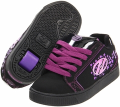 Heelys Comet Roller Shoe (Black/Purple)