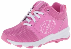 Heelys High Tail Skate Shoe (Pink/White)