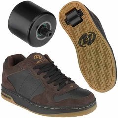Heelys Laser Roller Shoes (Brown)