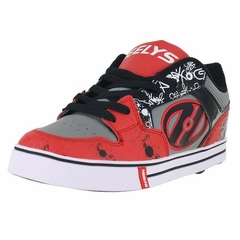 Heelys Motion Plus Skate Shoe (Red/Black)