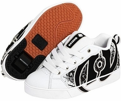 Heelys No Bones Lo Rollershoe (White/Black/Grey/Graffiti)