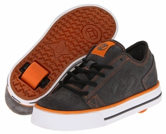 Heelys Plush Rollershoe (Grey/White/Orange)