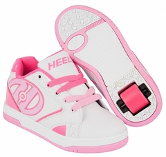 Heelys Propel 2.0 Skate Shoe (White / Hot Pink / Light Pink)