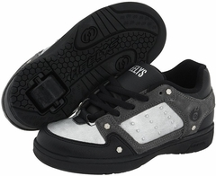 Heelys Stealth Rollershoe (Black/Grey/Metallic Silver)