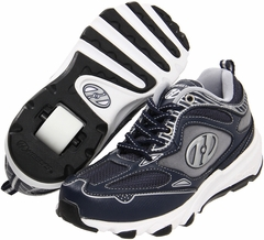 Heelys Swift Roller Shoe (Navy/Silver/Black/White)