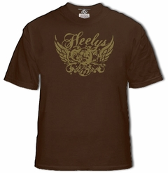 Heelys Wings Kids T-Shirt (Brown)