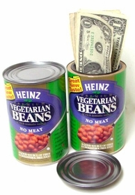 Heinz Beans Diversion Can Safe