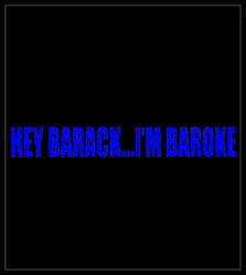 Hey Barack...I'm Baroke Men's T-Shirt