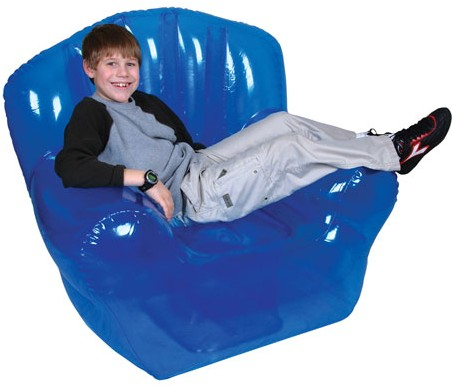 High Back Inflatable Blow Up Chair High Back Blow Up