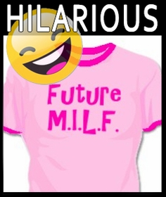 Hilarious Girls  T-Shirts