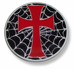 Holy Cross Web Buckle With FREE Belt