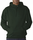 Hooded Sweatshirt :: Unisex Pull Over Hoodie (Forest Green)